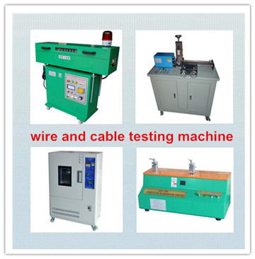 wire and cable testing machine