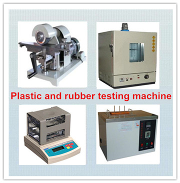 Plastic and rubber testing machine