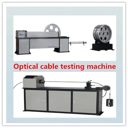 Optical cable testing machine